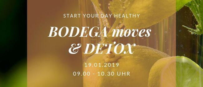 BODEGA moves & DETOX