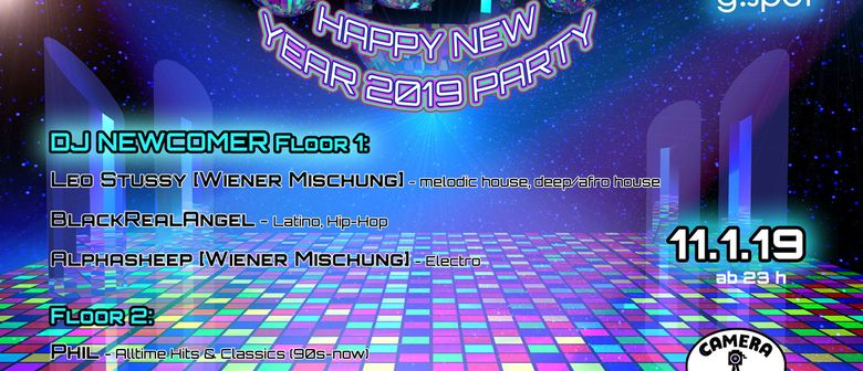 G.SPOT Happy New Year Party
