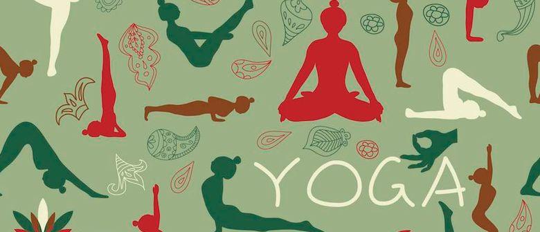 Yoga für leicht Fortgeschrittene u. sportlich. Anfänger