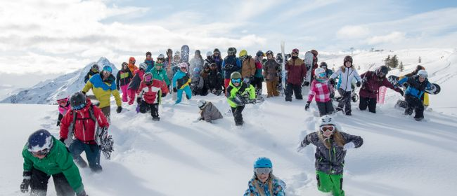 Ski- und Snowboardcamp 11. bis 15. Februar 2019