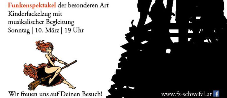 FUNKENSPEKTAKEL in Hohenems (Schwefel)