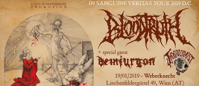 Metal Massacre: Bloodtruth + Demiurgon + Taxidermist