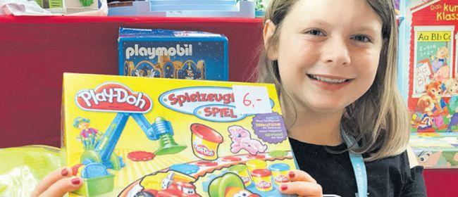 Spielzeugflohmarkt für Kinder im ZIMBAPARK