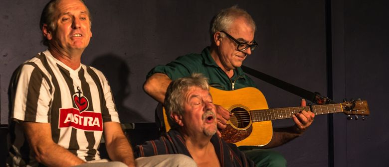 Drei Männer, der Durst und Renate -eine musikalische Komödie