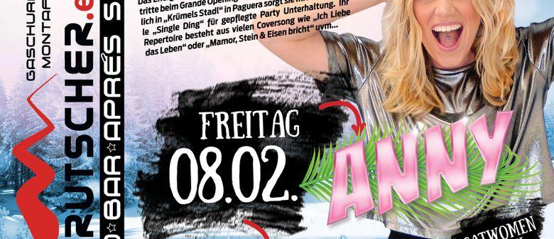 Anny LIVE // Ausrutscher Gaschurn