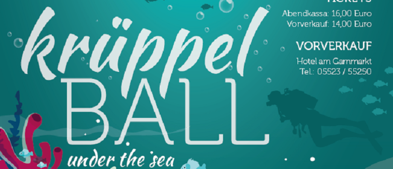 Krüppelball 2019 – under the sea
