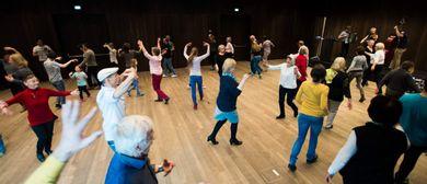 Mit-Tanzen on tour. Tanzen zu Live-Musik