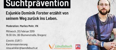 Vortrag mit Exjunkie Dominik Forster
