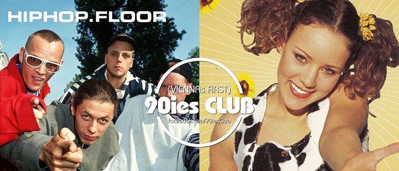 90ies Club mit HIPHOP.floor / Jiggy Special