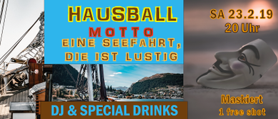 Hausball mit DJ und Special Drinks im Cook in Tosters