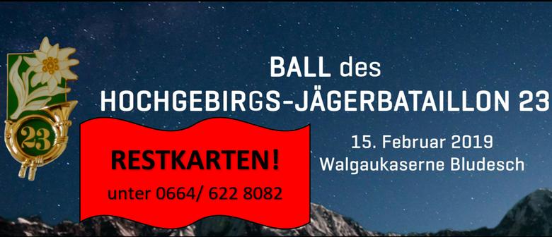 Ball des Hochgebirgs-Jägerbataillon 23
