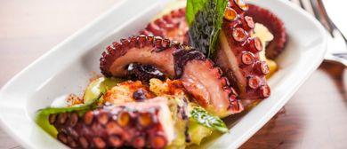Crispy Oktopus im Kussmaul