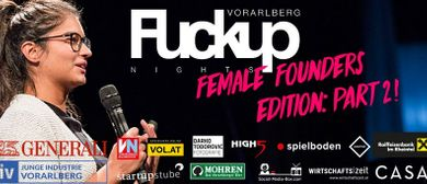 FuckUp Night: Female Founders Edition