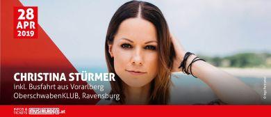 Christina Stürmer // inkl. Busfahrt // Ravensburg (D)
