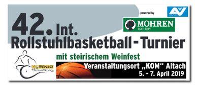 Das 42. Mohren-Rollstuhlbasketball-Turnier in Altach