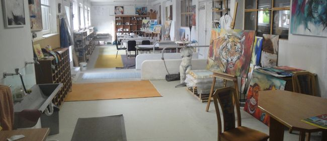 Offenes Atelier - Acrylmalen