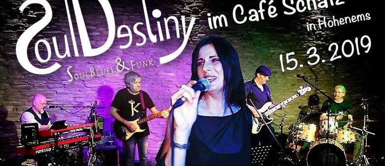 SoulDestiny live Im Café Schatz