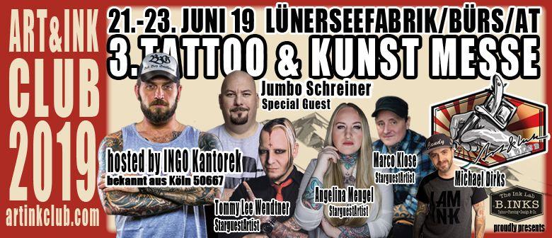 ART & INK CLUB 2019  Tattoo & Kunstmesse