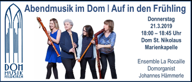 Abendmusik im Dom | Kammermusik zum Frühlingsbeginn