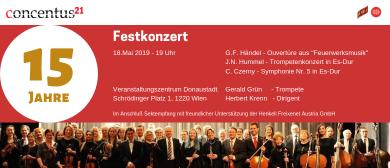 """Festkonzert """"15 Jahre Concentus21 Wien"""""""