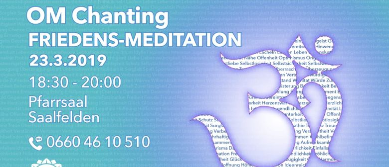 Friedens-Meditation OM-Chanting