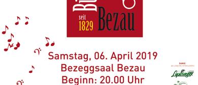 Jubiläumskonzert 190 Jahre Bürgermusik Bezau