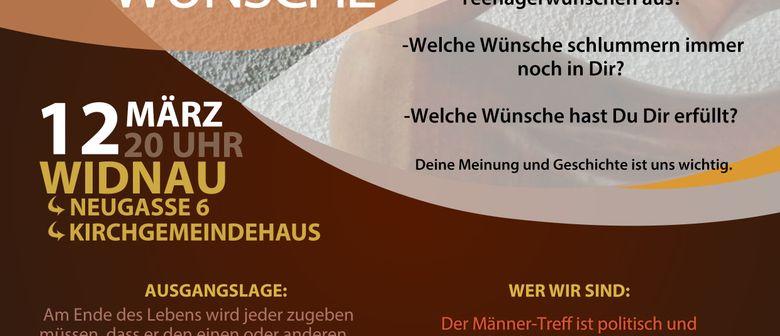 """Männertreff Rheintal: """"Die vergessenen Teenagerwünsche"""""""