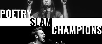 Poetry Slam Champions: Jean-Philippe Kindler/Sarah Anna Fern