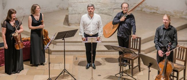 """Konzert """"altus que"""" - Pandolfis Consort und Nicholas Spanos"""