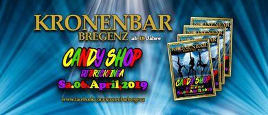 Candy Shop in der Kronenbar Bregenz!