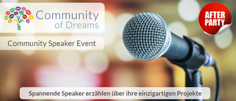 Community Speaker Event