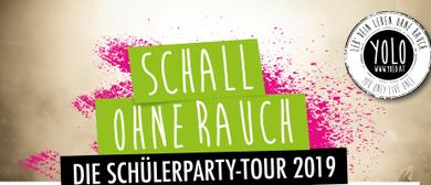 """""""Schall ohne Rauch""""-DIE Schülerparty Tour 2019!"""