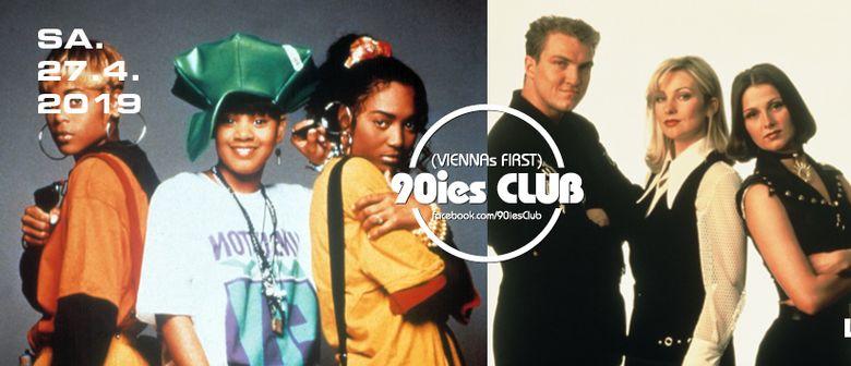 90ies Club mit HIPHOP.floor / R'n'B Special