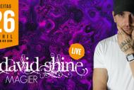 Magier David Shine live in der Werkstatt Rankweil