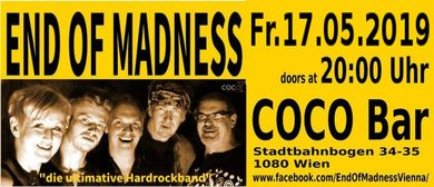 End Of Madness live at Coco Bar