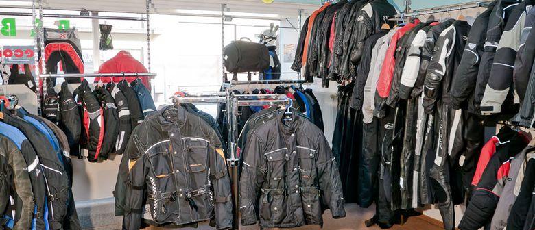 Basar für Motorradbekleidung und Zubehör