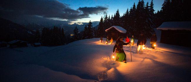 Mondschein-Sagenwanderung im Silbertal mit HERTHA GLÜCK