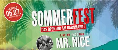 Sommerfest mit Hüpfburg und Mr. Nice live in concert