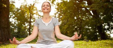 Guten Morgen Meditation in der Natur