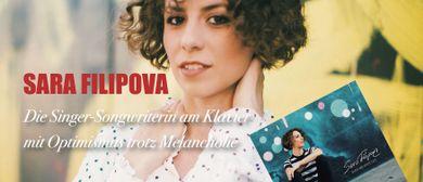 """""""Black And White Café"""" –  SARA FILIPOVA - CD Release Konzert"""