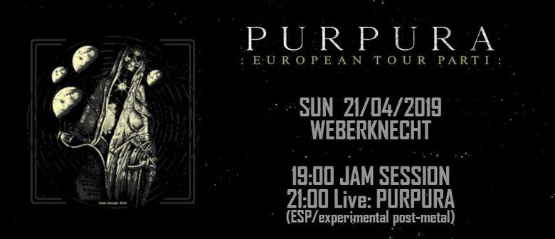 Purpura (ESP) + Jam Session