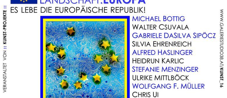 """Europäische """"Landschaften"""" im Fokus!"""