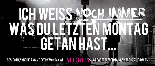"MERCY - ""80's, Pop, Rock & Dark Electro"""