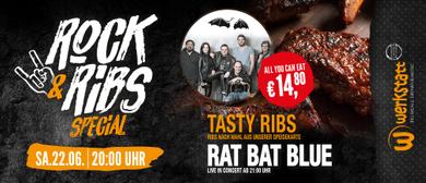 Rat Bat Blue live plus Ribs in der Werkstatt Kufstein