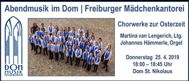 Abendmusik im Dom | Die Freiburger Mädchenkantorei zu Gast