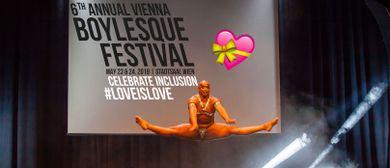 Vienna Boylesque Festival - Celebrate Inclusion. #loveislove
