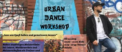 Urban Dance Workshop mit Markus Isopp