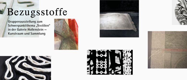 Ausstellungseröffnung: Bezugsstoffe