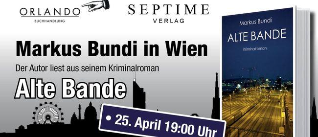 Krimi-Lesung: Markus Bundi in Wien