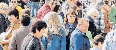 Freigelände Flohmarkt des CASHPOINT SCR Altach